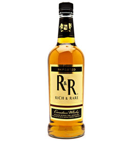 RICH AND RARE CANADIAN WHISKEY 750ML