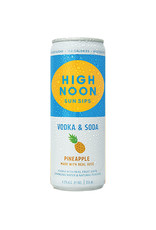 High noon pineapple 4/12ozcn