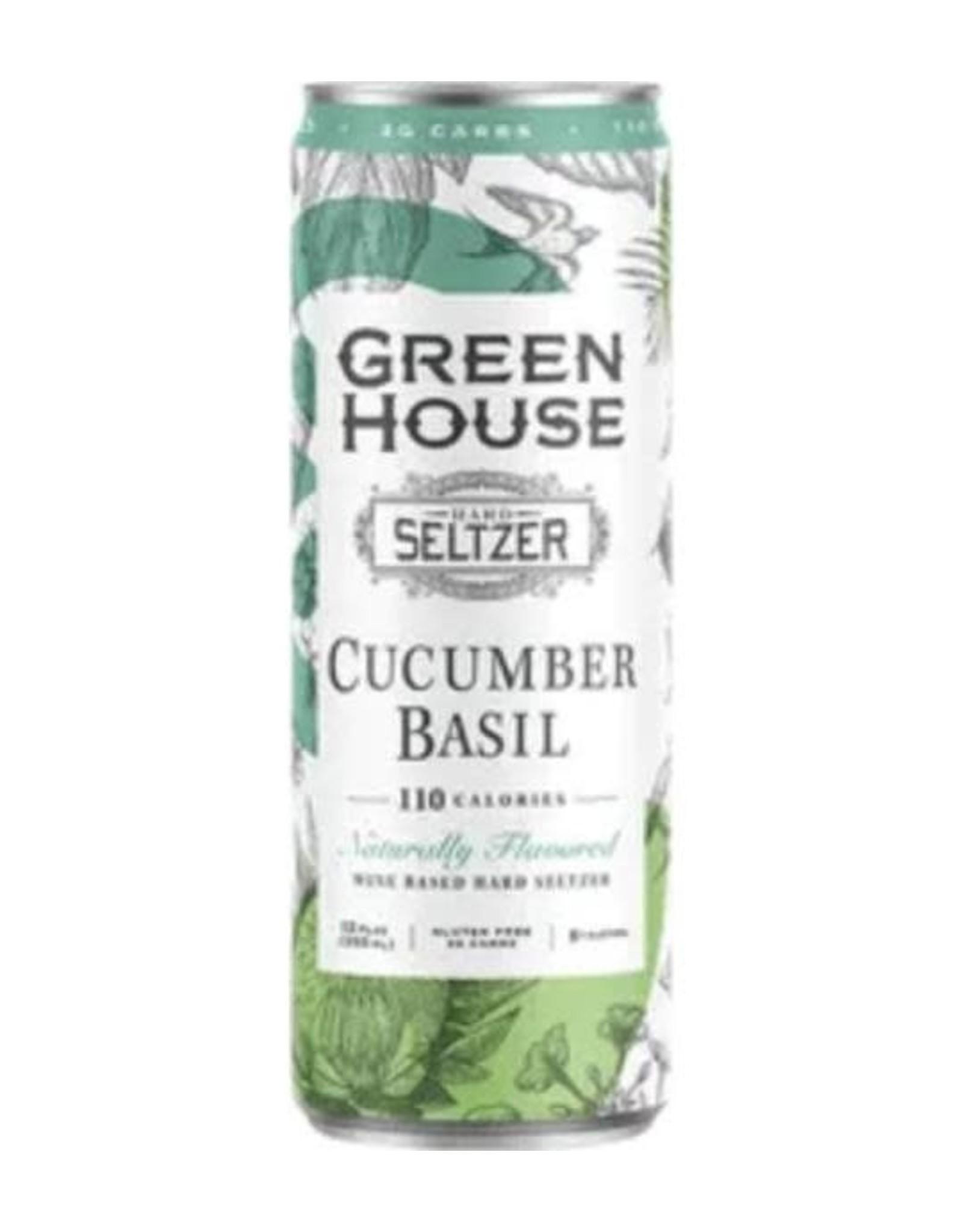GREEN HOUSE CUCUMBER BASIL 6/4/12OZ CN