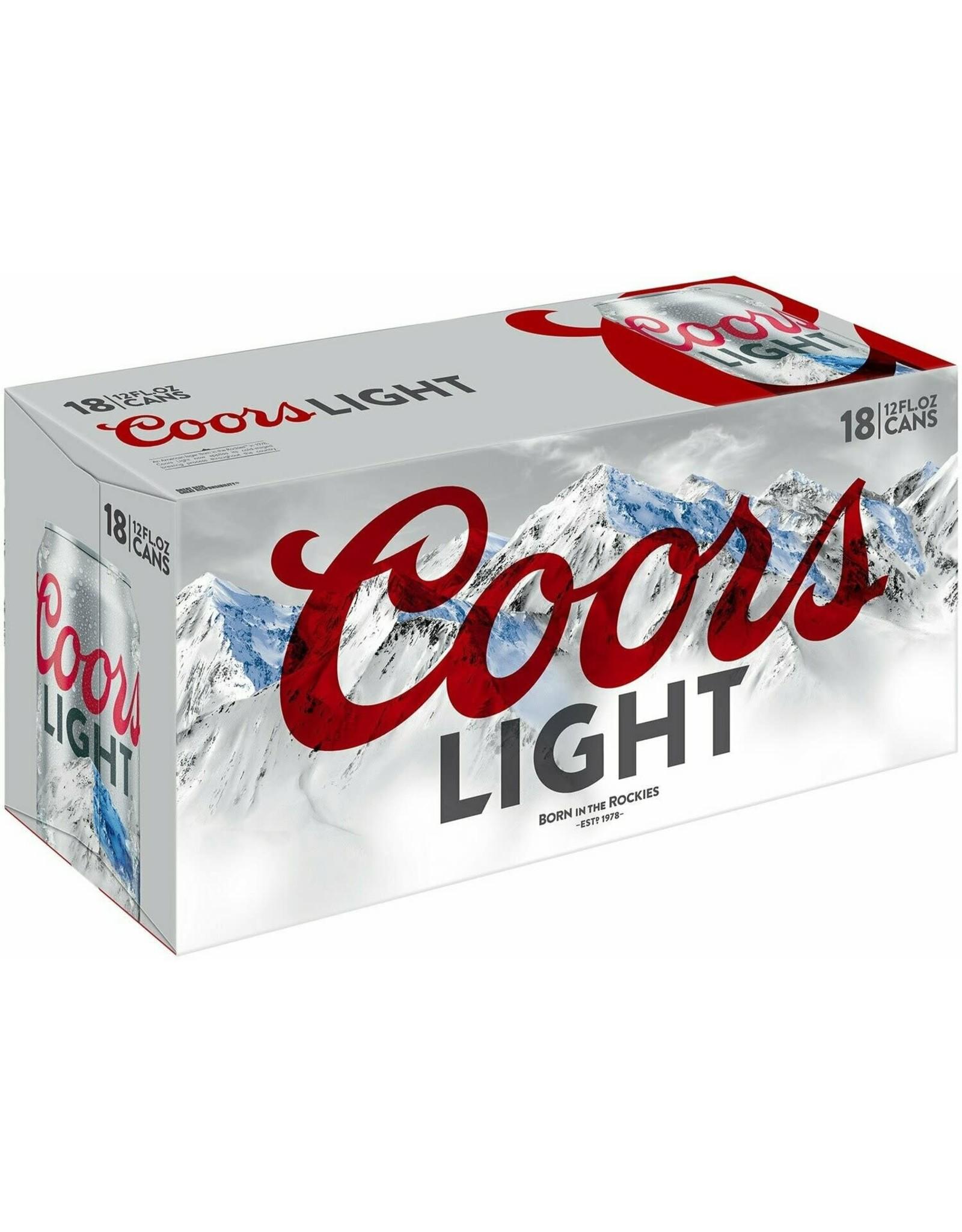 COORS LIGHT 1-18-12oz CN