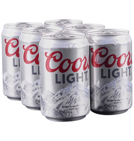 COORS LIGHT 4-6-12 CN