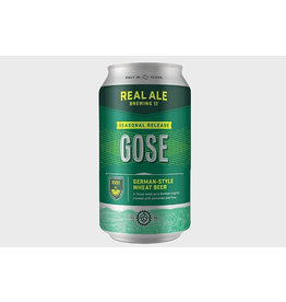 REAL ALE LIMITED ED GOSE 4-6-12 CANS