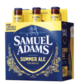 SAM ADAMS SEASONAL SUMMER ALE 4-6-12 NR
