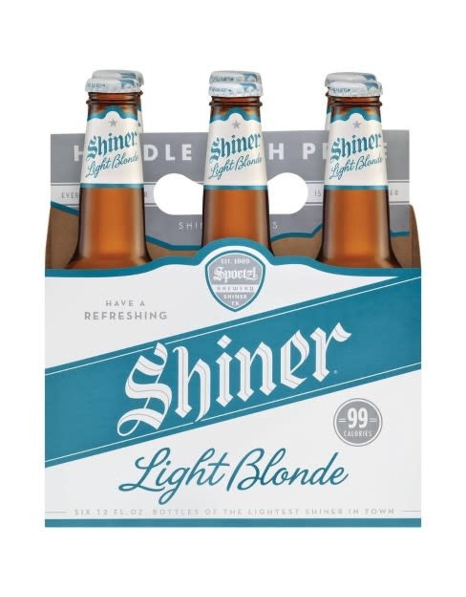 SHINER LIGHT BLONDE 4-6-12oz LN