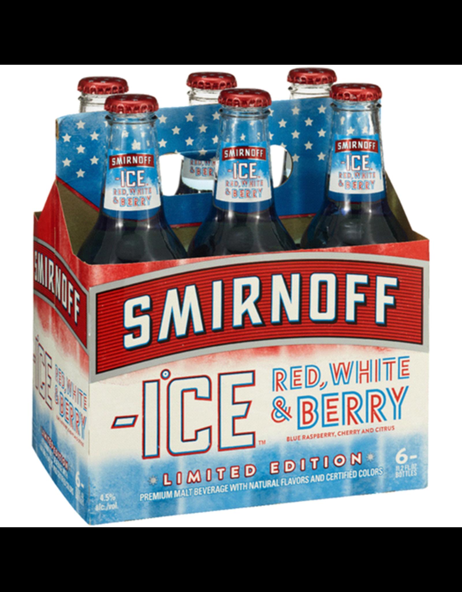 SMIRNOFF ICE RED WHITE BLUE SELTZER 2/12