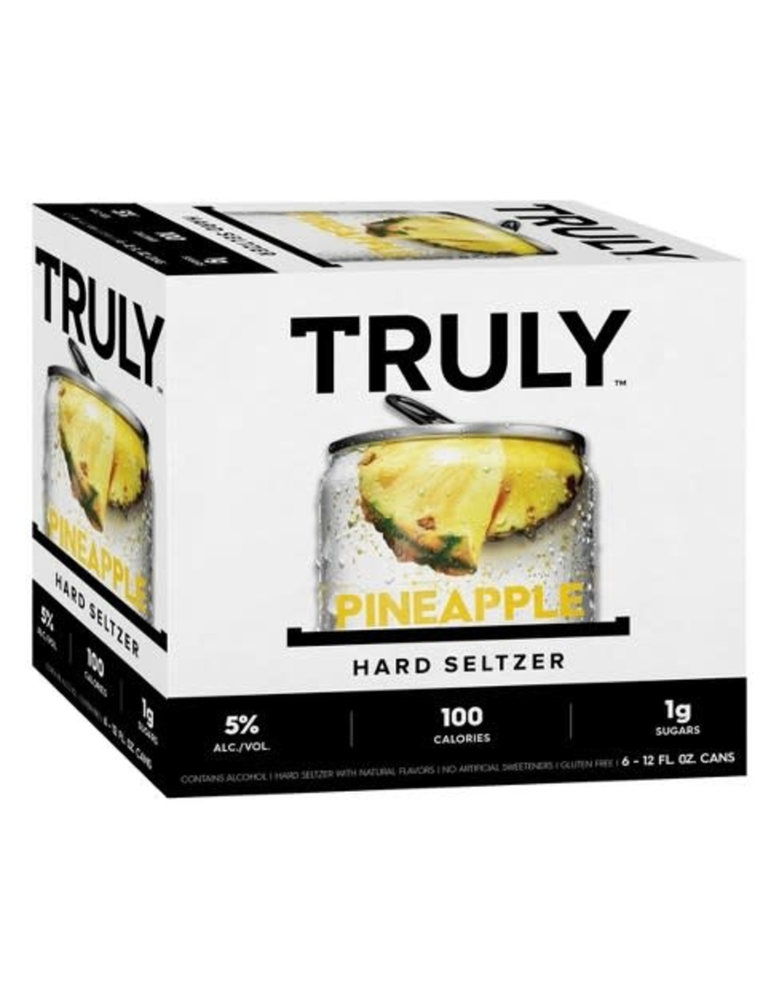 TRULY SPIKED PINEAPPLE 4/6/12OZ CN