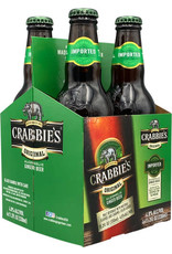 CRABBIES GINGER BEER 6-4-11.20oz