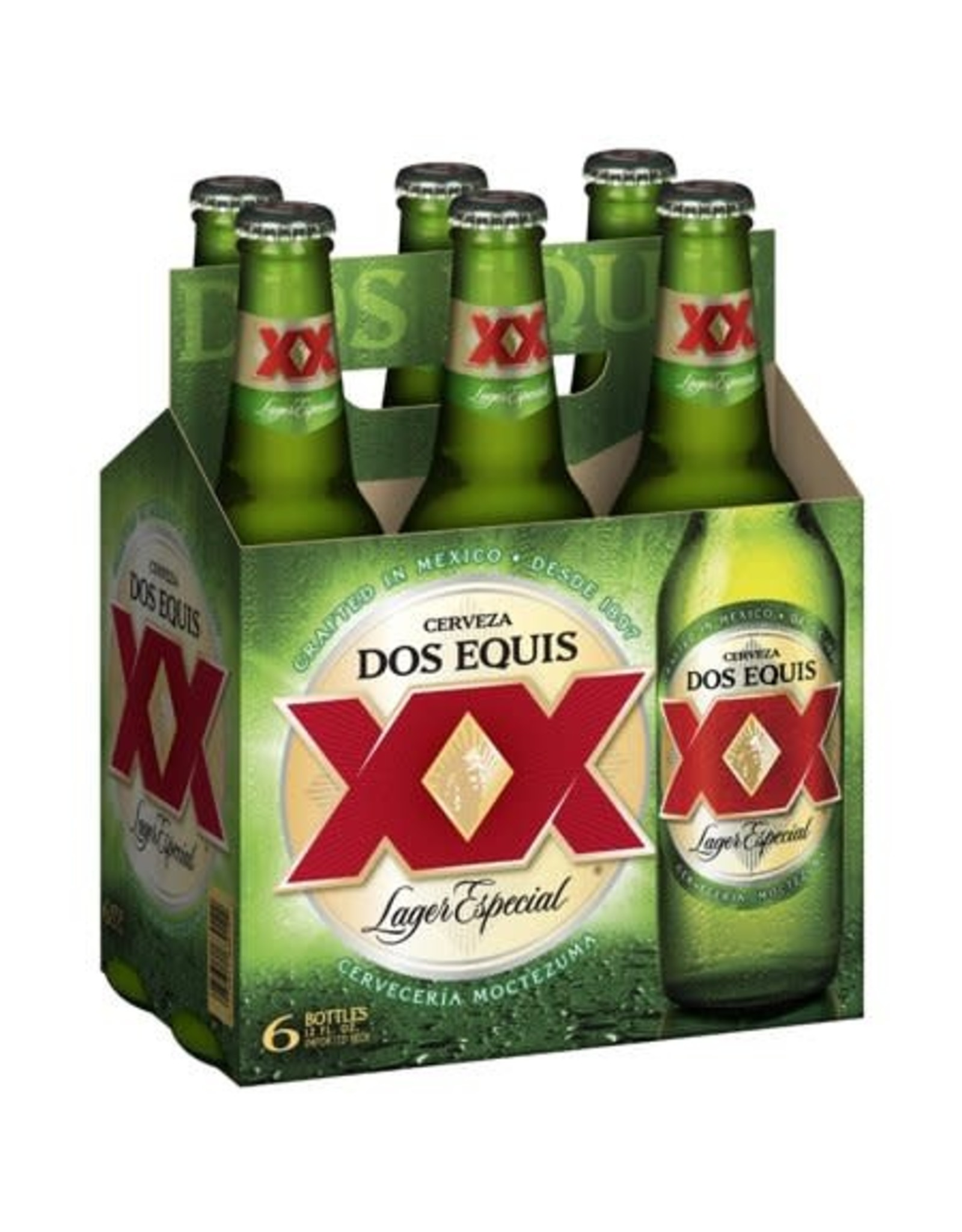 DOS EQUIS SPECIAL LAGER 4-6-12oz LN