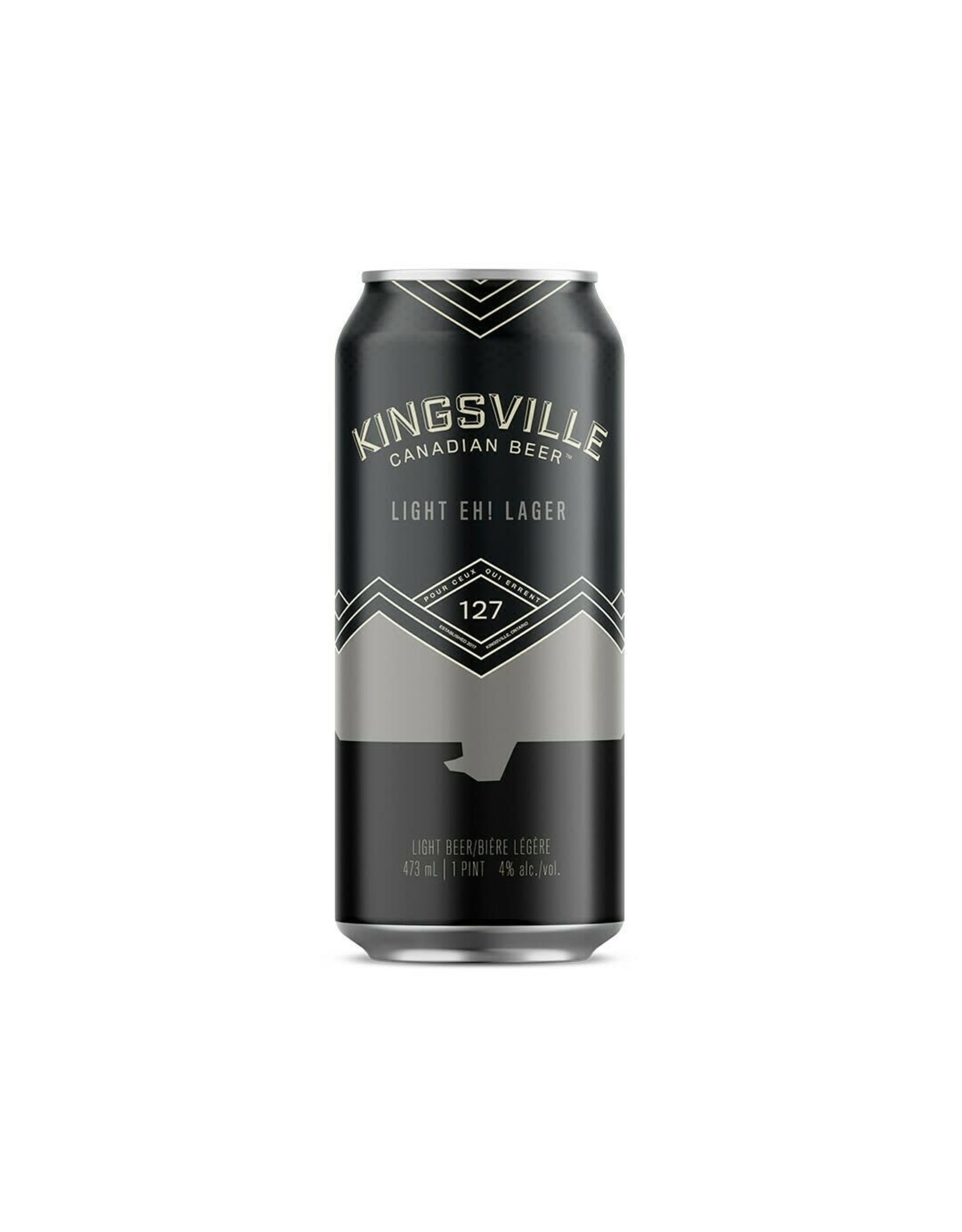 KINGSVILLE LIGHT  LAGER 6/4/16CN