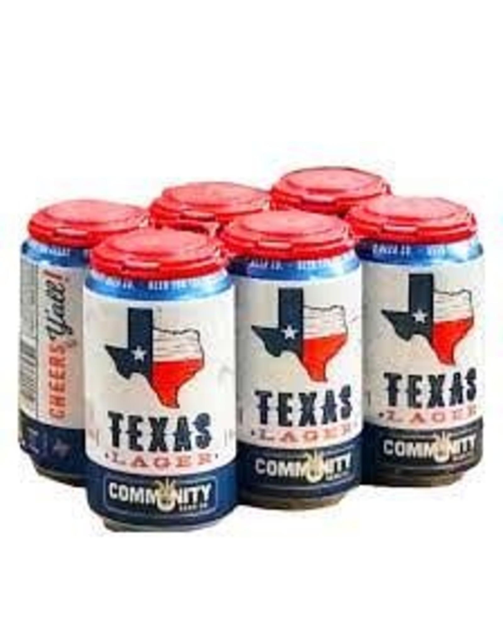 Community Texas helles 4-6-12ozCN