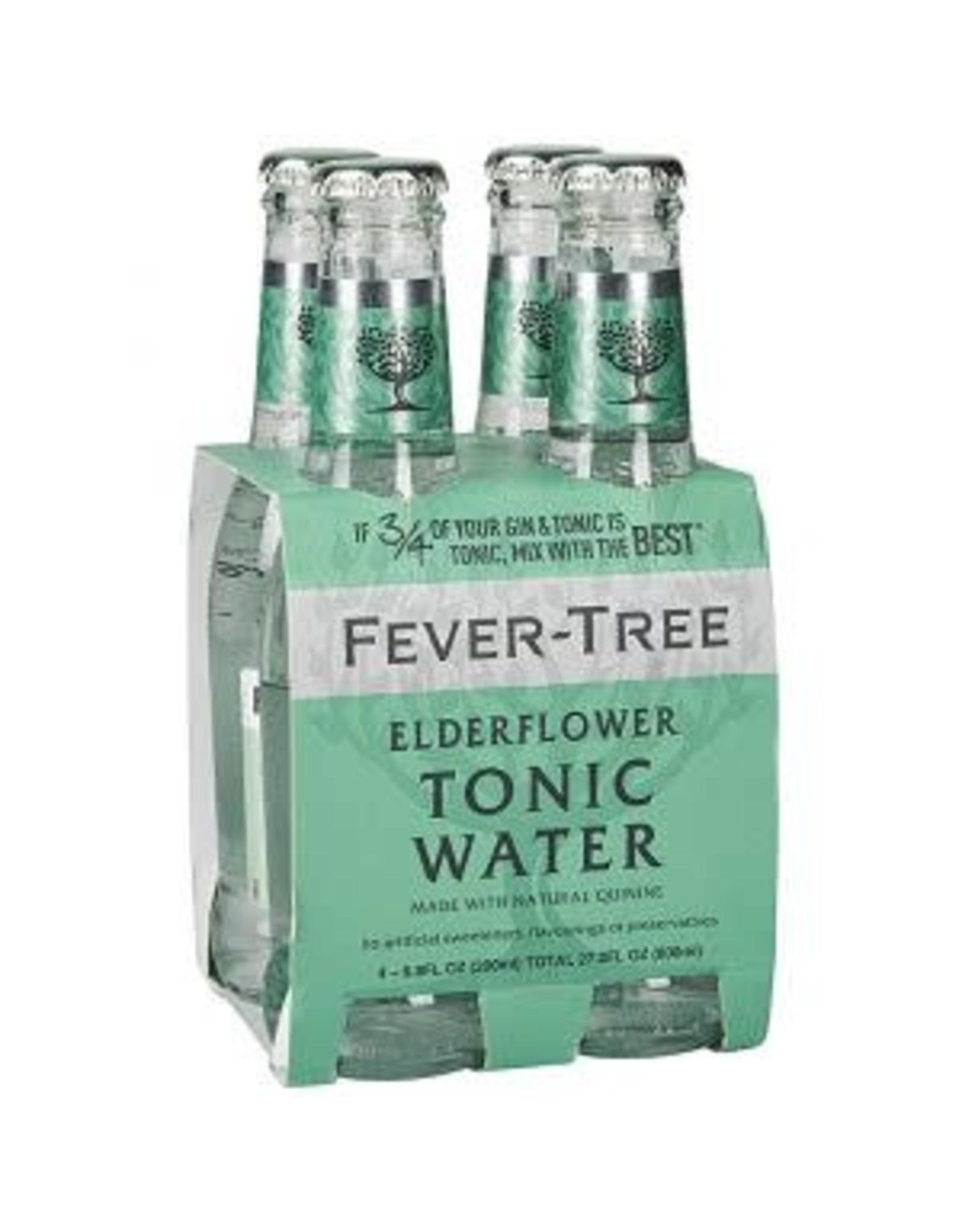 FEVER TREE ELDERFLOWER TONIC 4PK 6.8oz