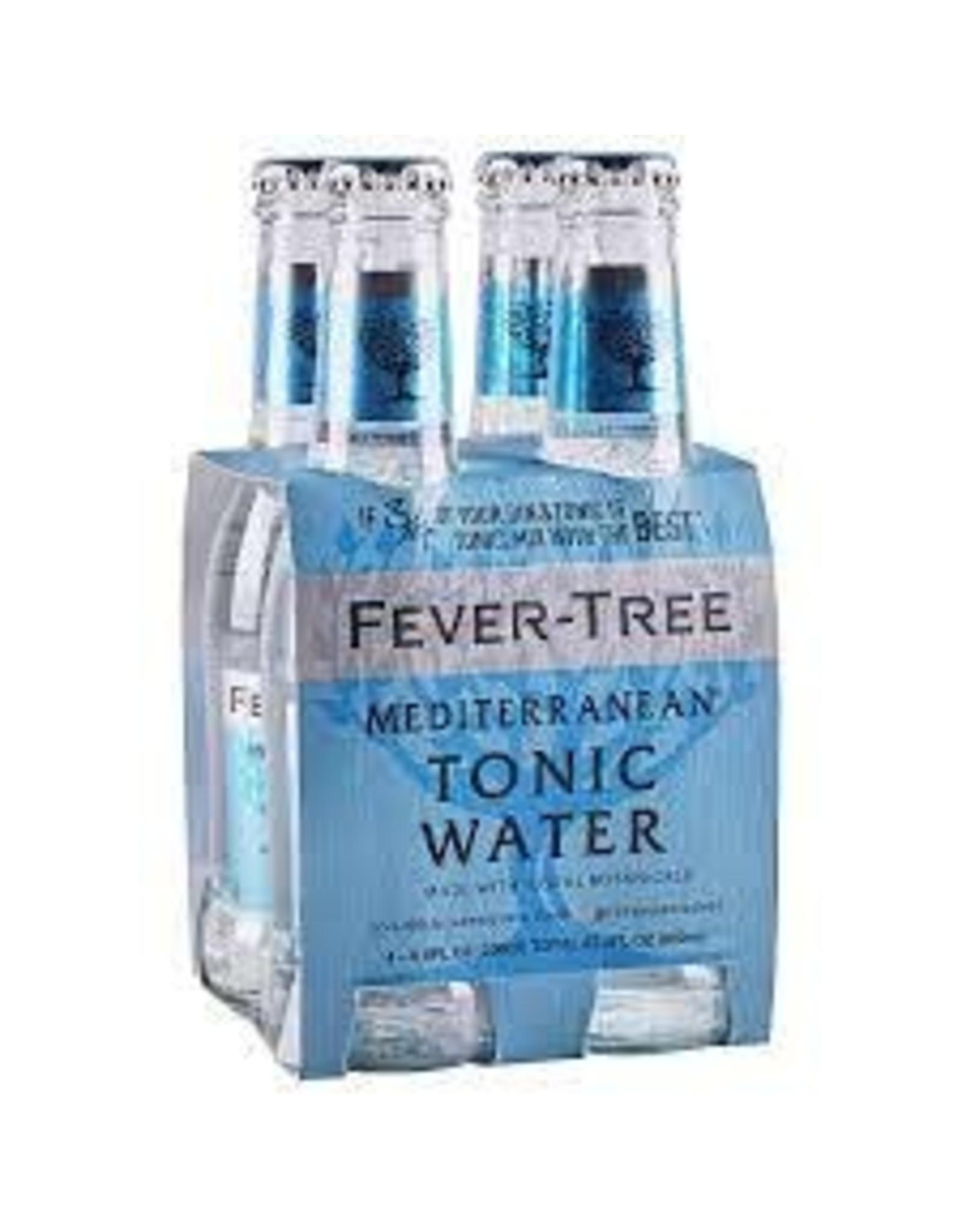 FEVER TREE MEDITERRANEAN TONIC WATER 4PK