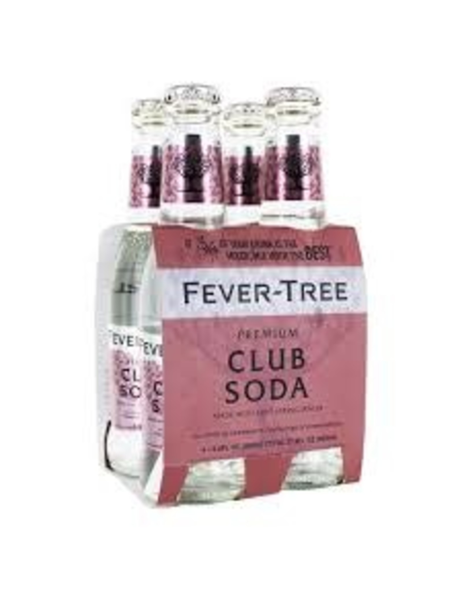 FEVER TREE PREMIUM CLUB SODA 4PK
