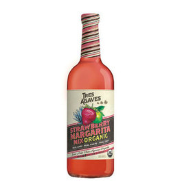 TRES AGAVES STRAWBERRY MARG MIX 1L