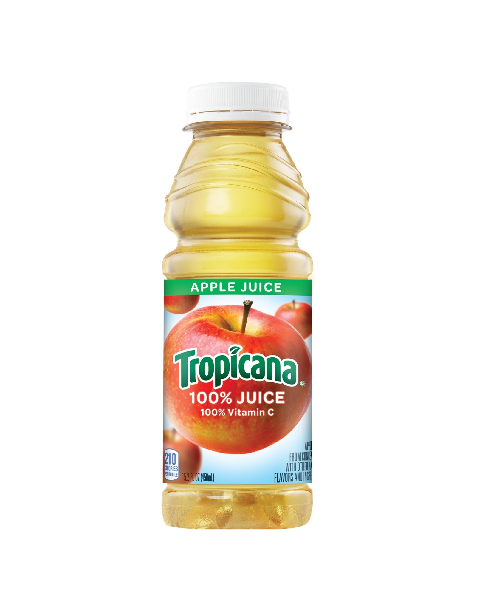 TROPICANA APPLE JUICE 15 OZ