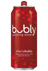 BUBLY CHERRY SPARKLING WATER 20oz