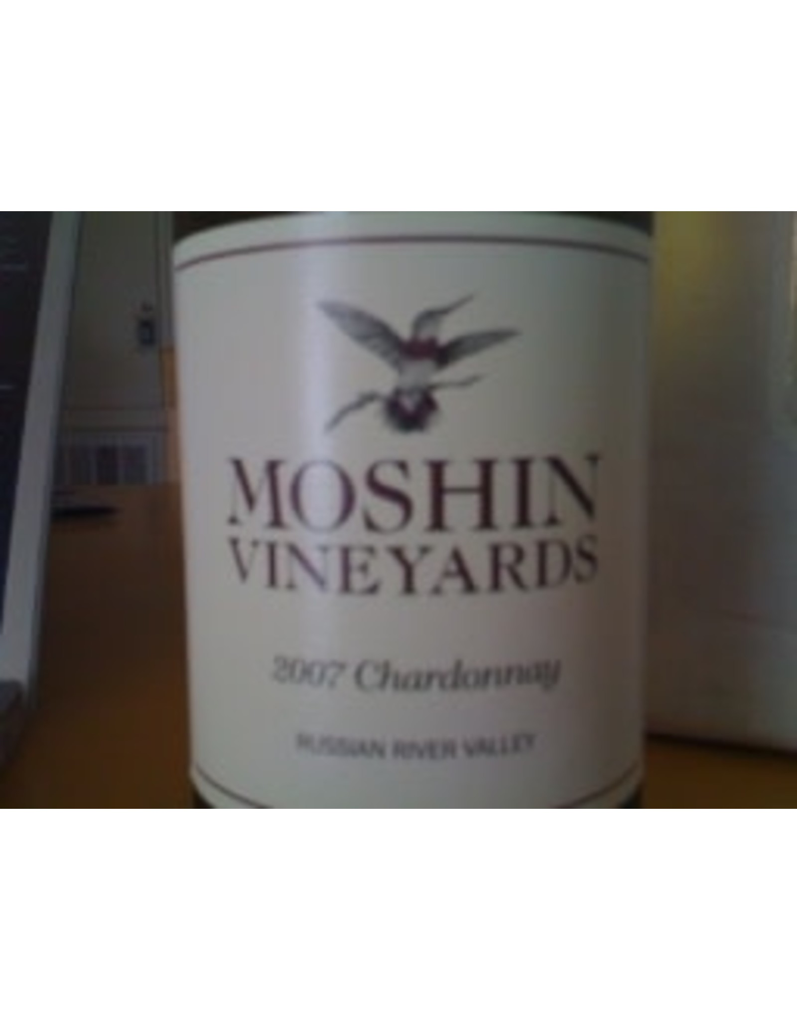 MOSHIN VINEYARDS CHARDONNAY 2012