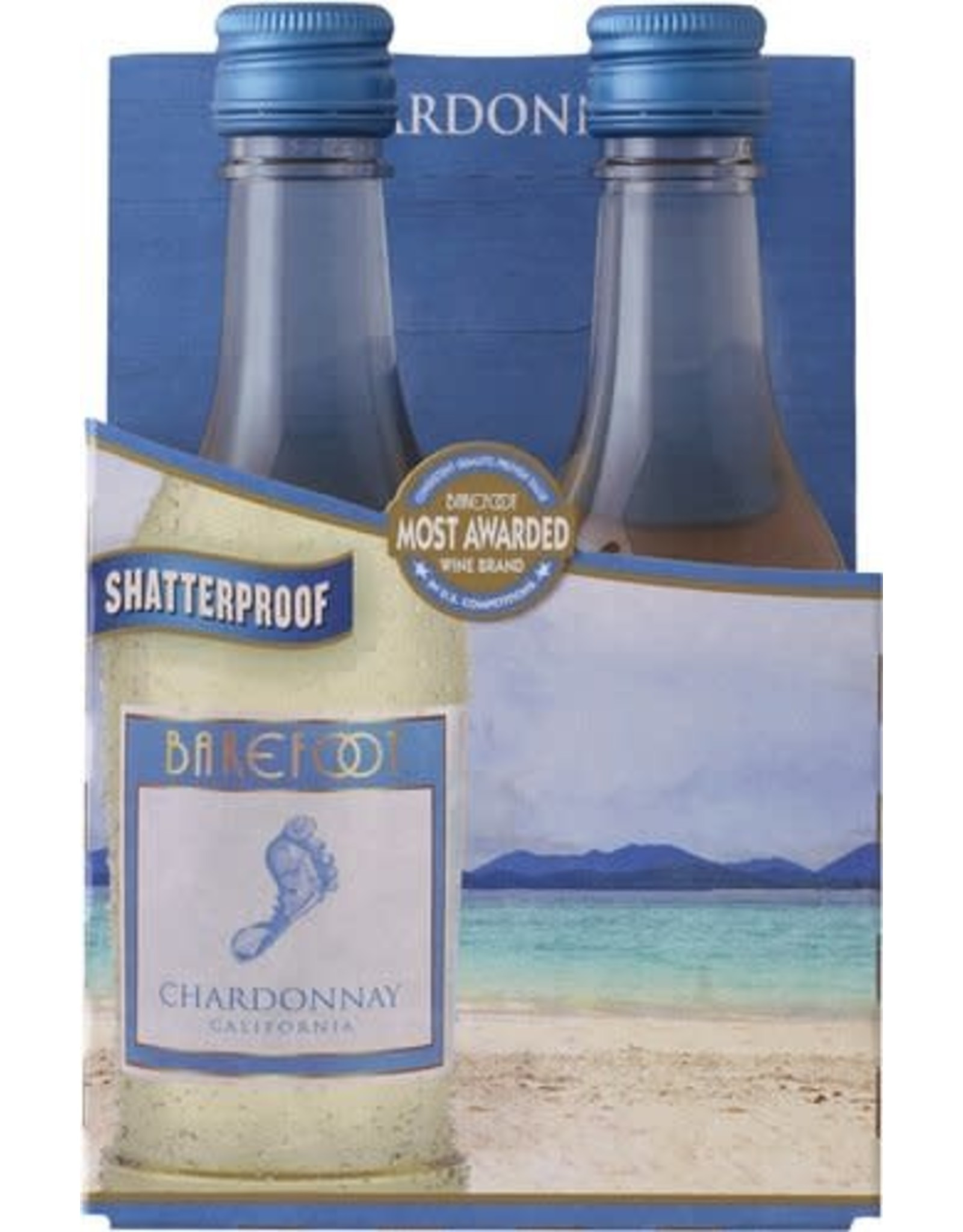 Barefoot Chardonnay 4pk