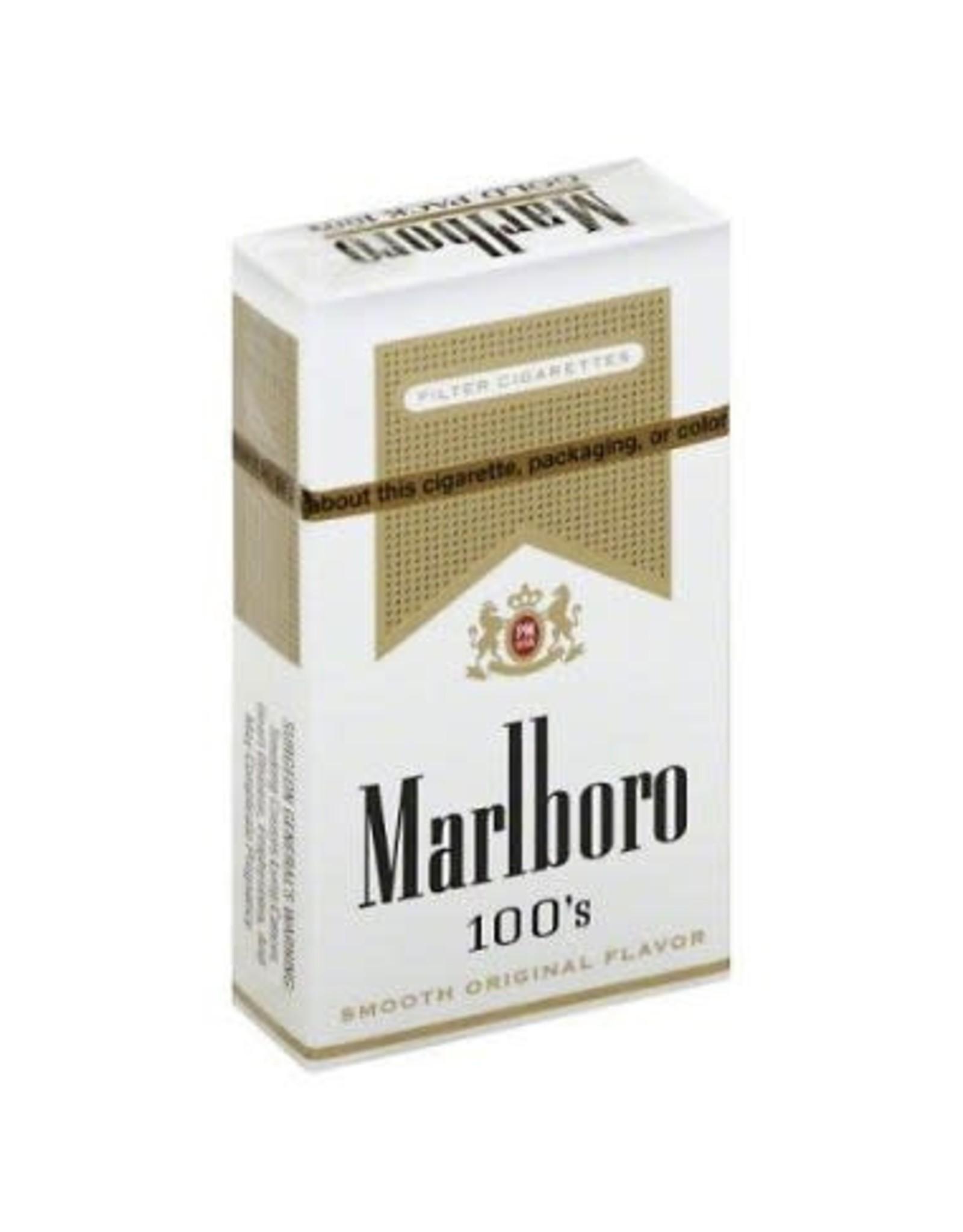 MARLBORO GOLD 100 BOX