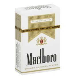 MARLBORO GOLD BOX