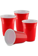 RED PARTY CUPS 18 PACK 16OZ