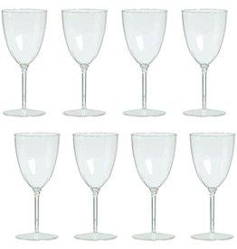WINE GLASSES 8pk CLEAR