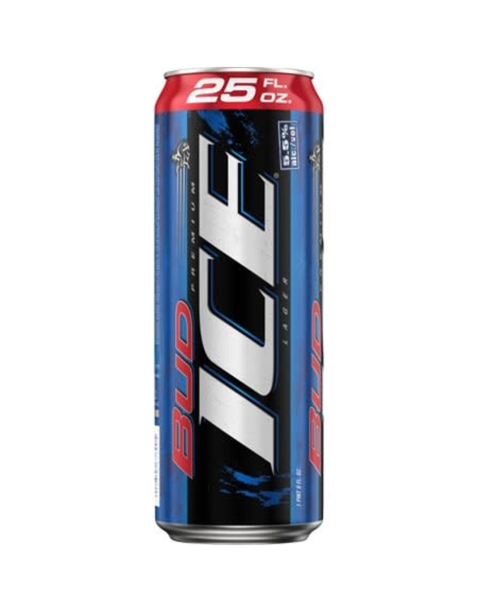 BUD ICE 15-25 CAN