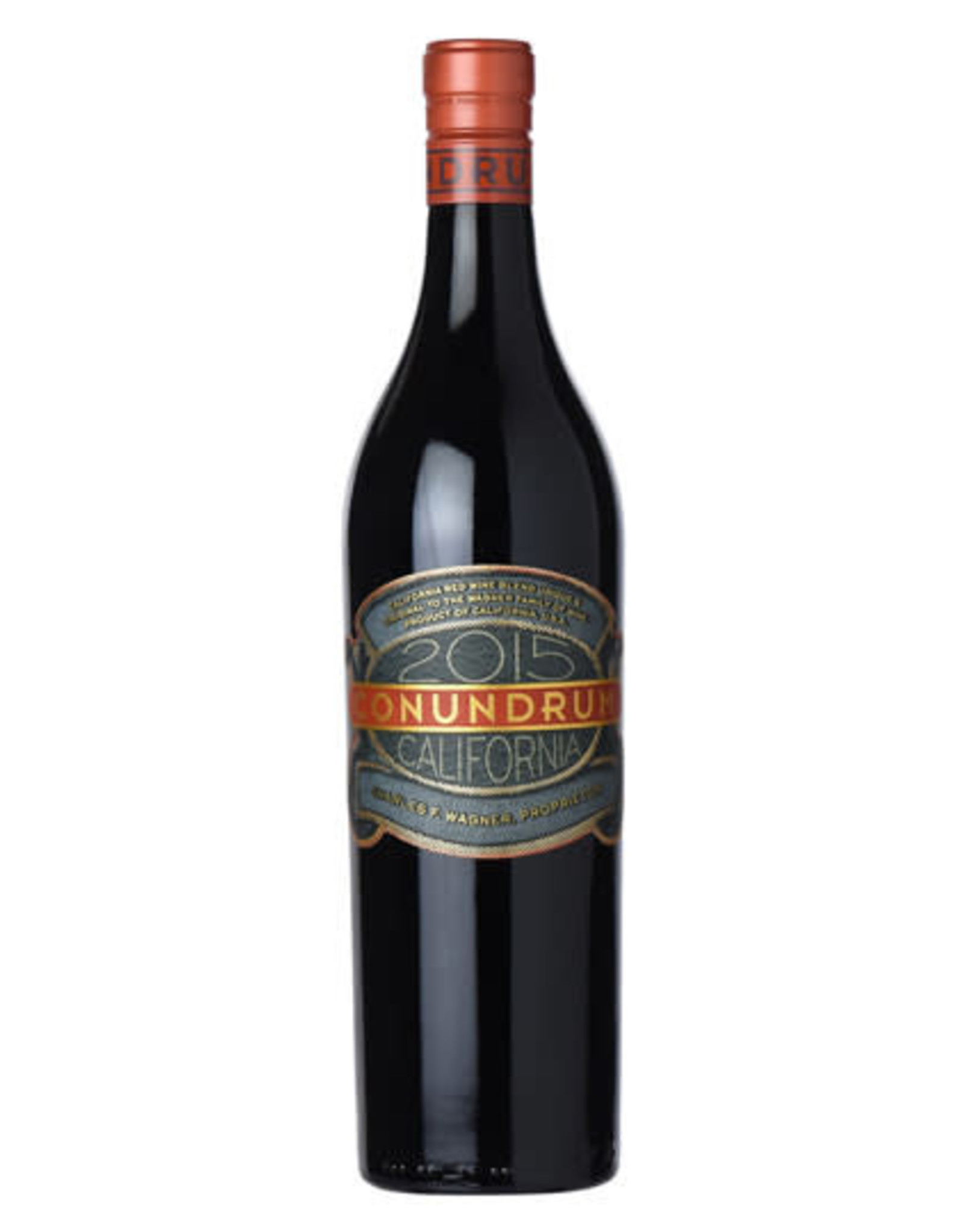 CONUNDRUM CALIFORNIA RED WINE 2015