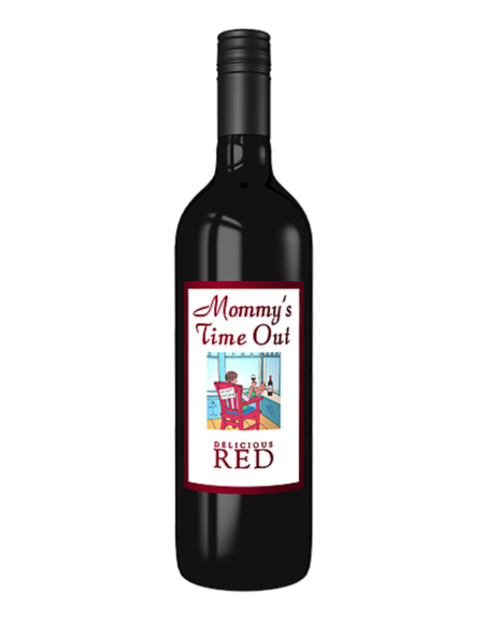 MOMMY'S TIME OUT DELICIOUS RED 750ML