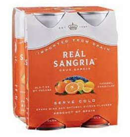 REAL SANGRIA 4 PK CANS