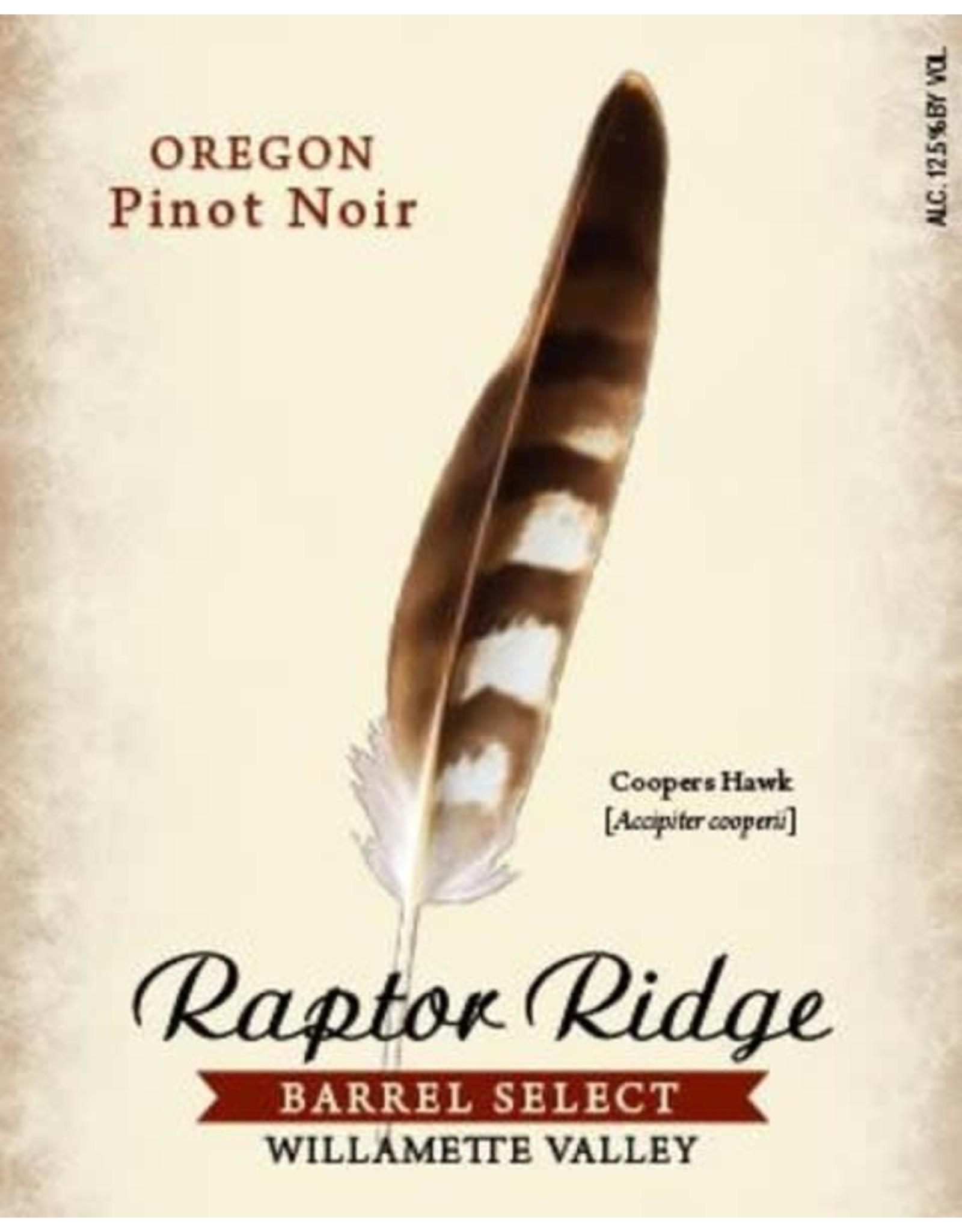 RAPTOR RIDGE PINOT NOIR 2018  750ML
