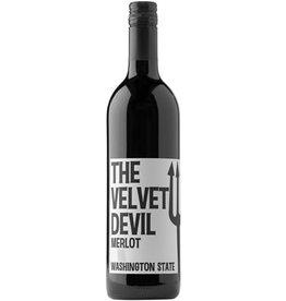 THE VELVET DEVIL MERLOT 750ML