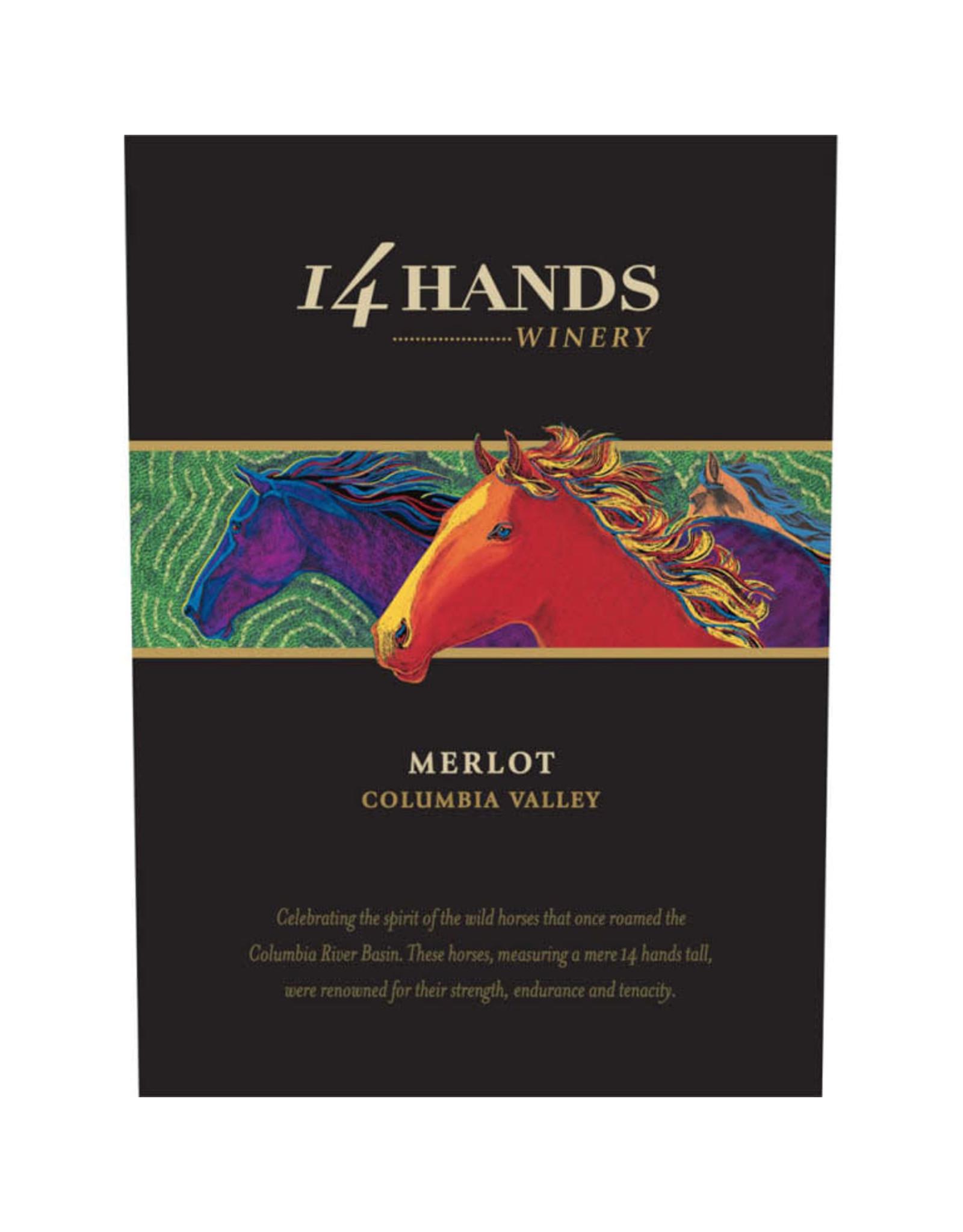 14 HANDS MERLOT 2015 750mL