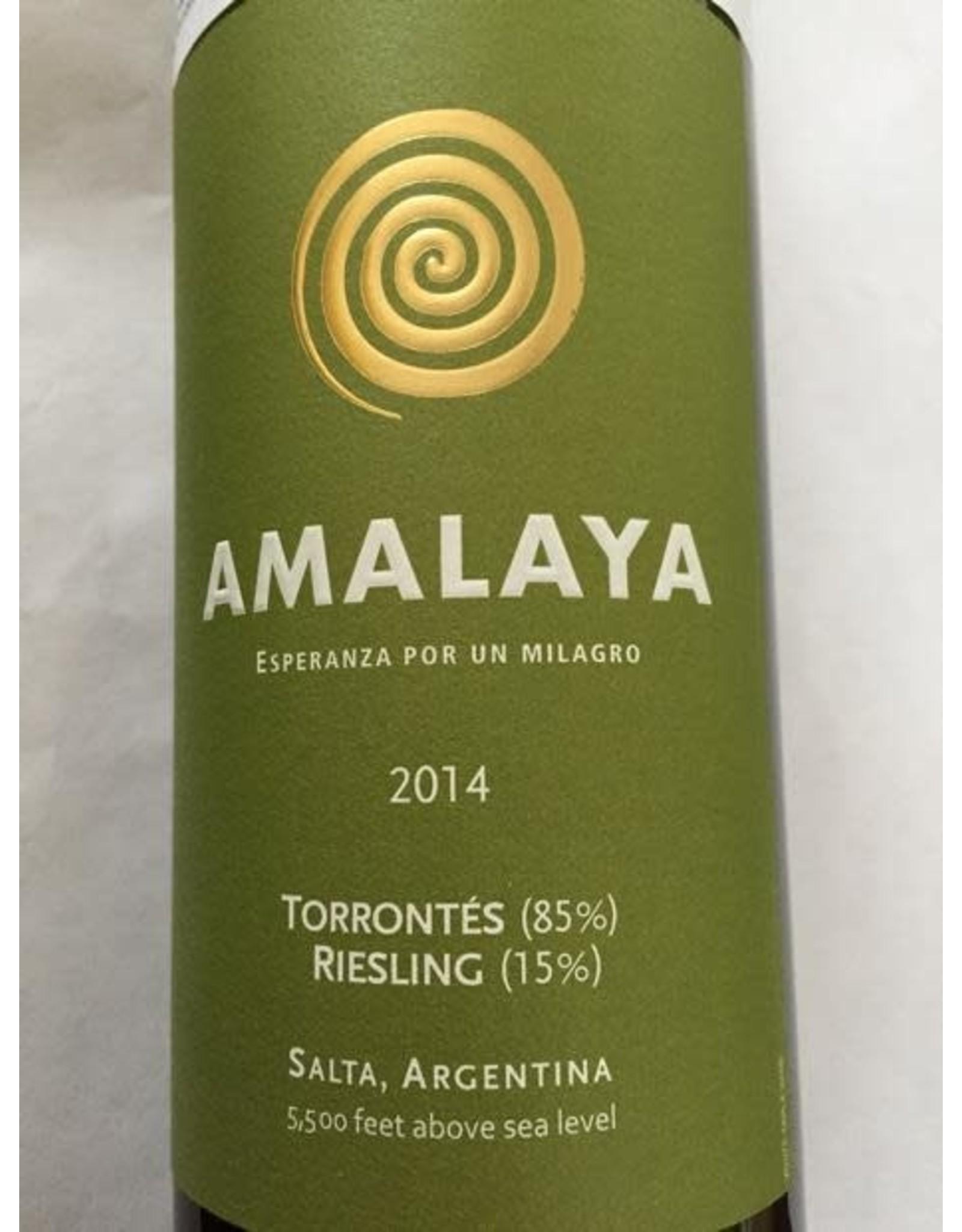 Amalaya Torrontes 2014
