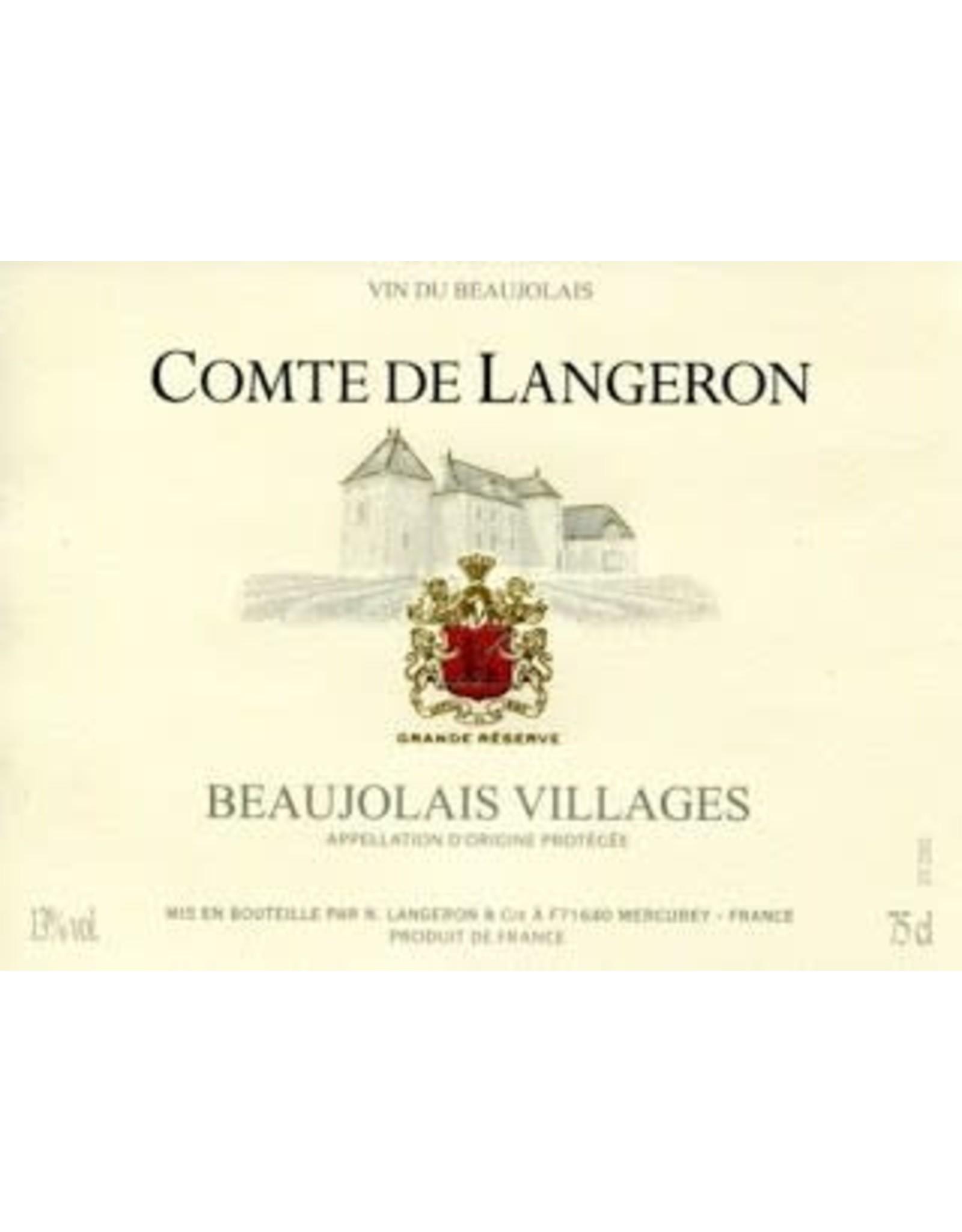 COMTE DE LANGERON BEAUJOLAIS 750ML 2016