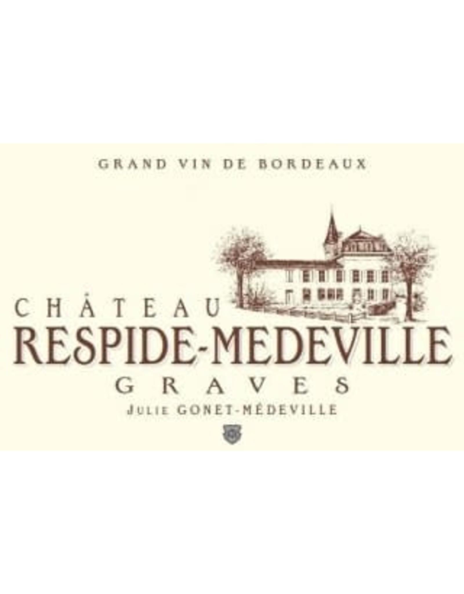 CHATEAU RESPIDE-MEDEVILLE  2018 BORDEAUX