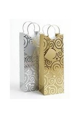 METALLIC BRUSHSTROKE BAG FOR 750ML
