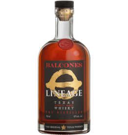 BALCONES SINGLE MALT LINAGE WHISKY 750 ML