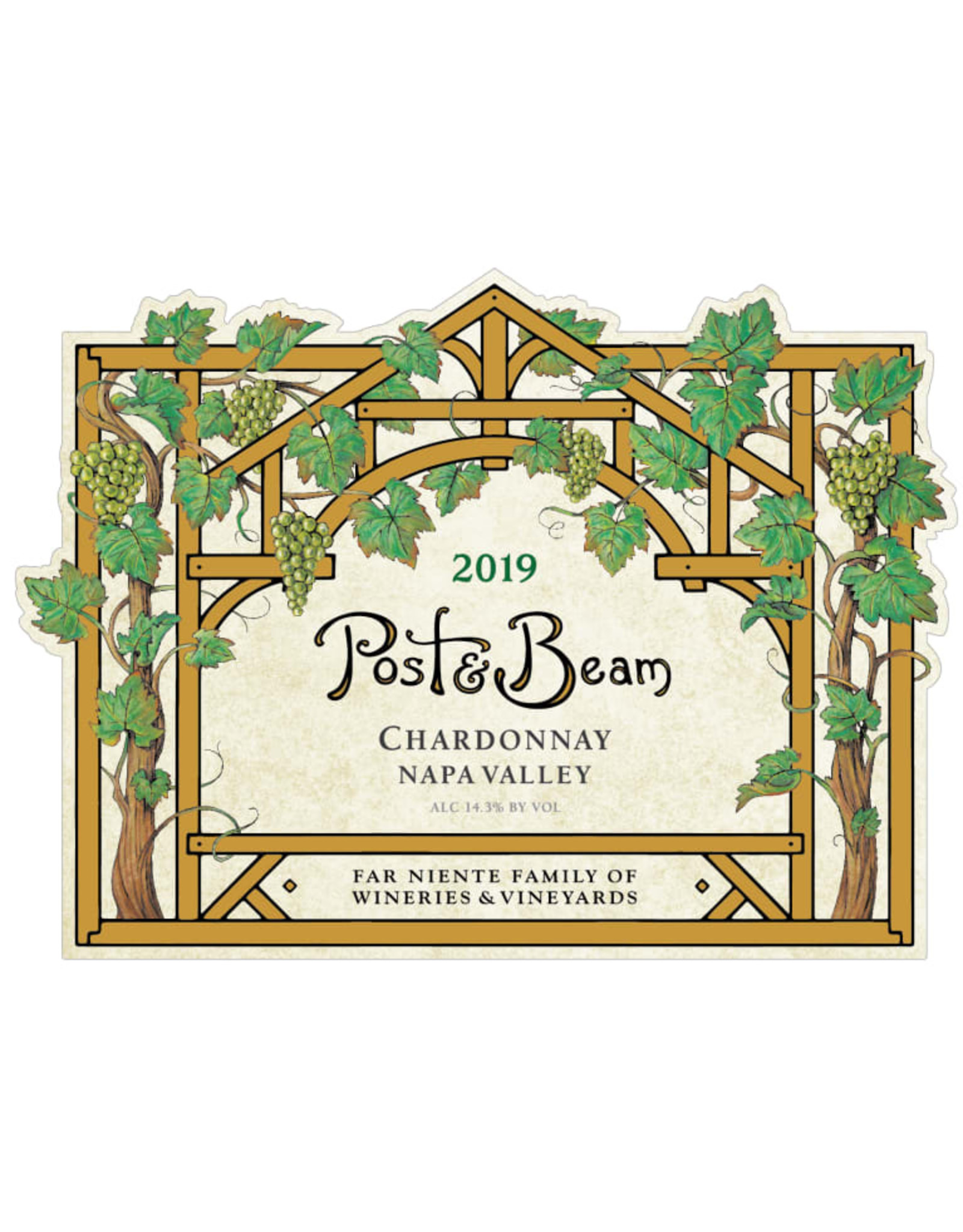 POST & BEAM CHARDONNAY 2019