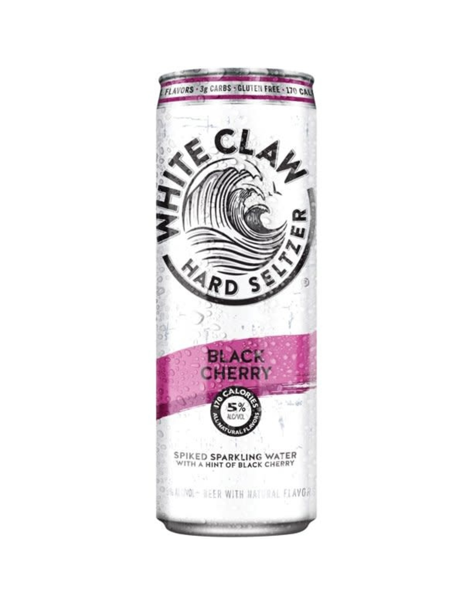 WHITE CLAW BLACK CHERRY 12-19.2 CAN