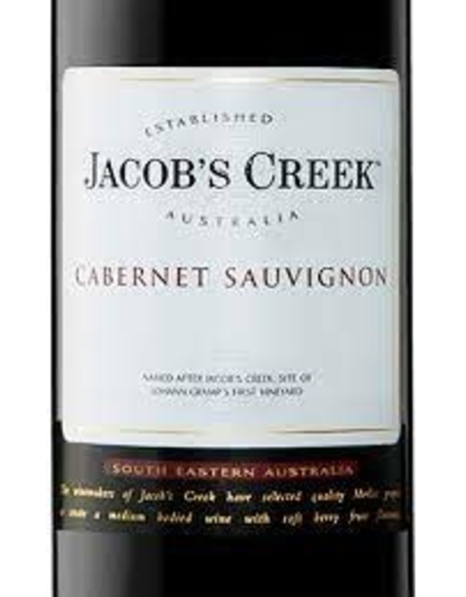 JACOBS CREEK CABERNET SAUVIGNON 2019