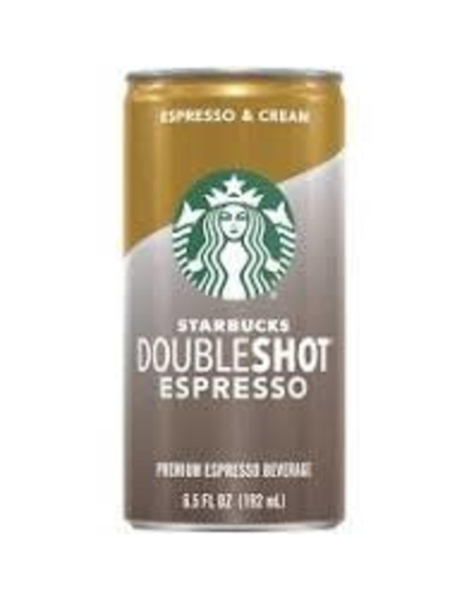 STARBUCKS DOUBLESHOT ESPRESSO 6.5OZ CAN
