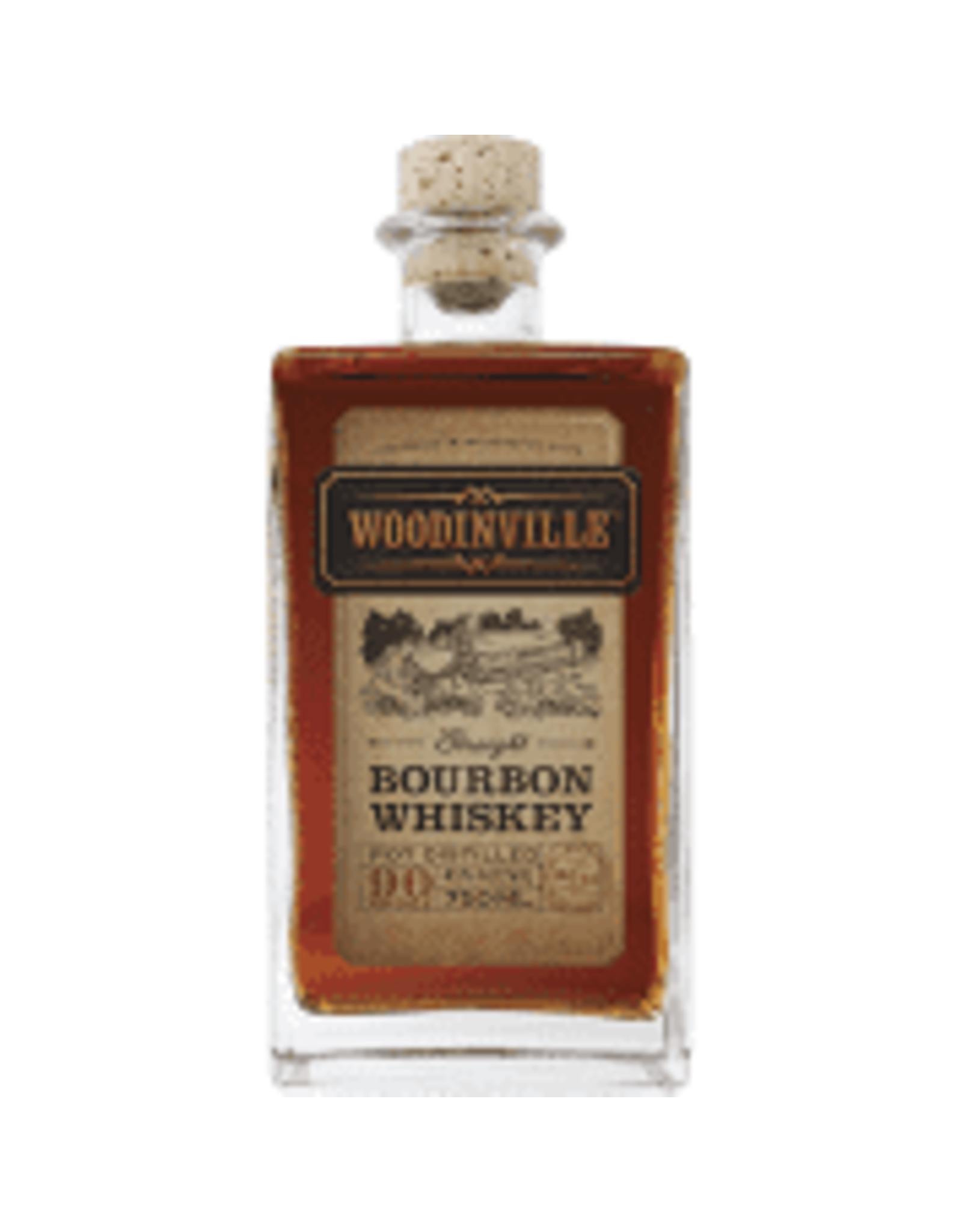 WOODINVILLE BOURBON WHISKEY 750ML