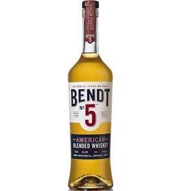 BENDT NO 5 AMERICAN BLENDED WHISKEY 750ML