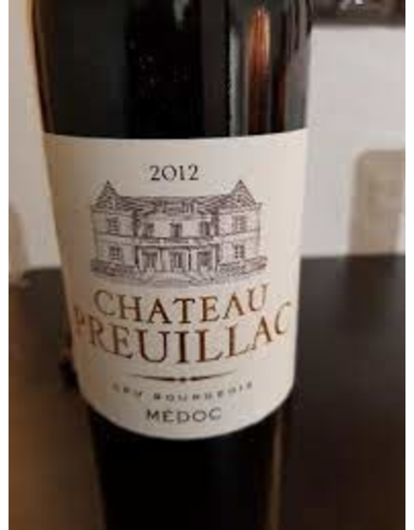 CHATEAU PREUILLAC MEDOC 2012