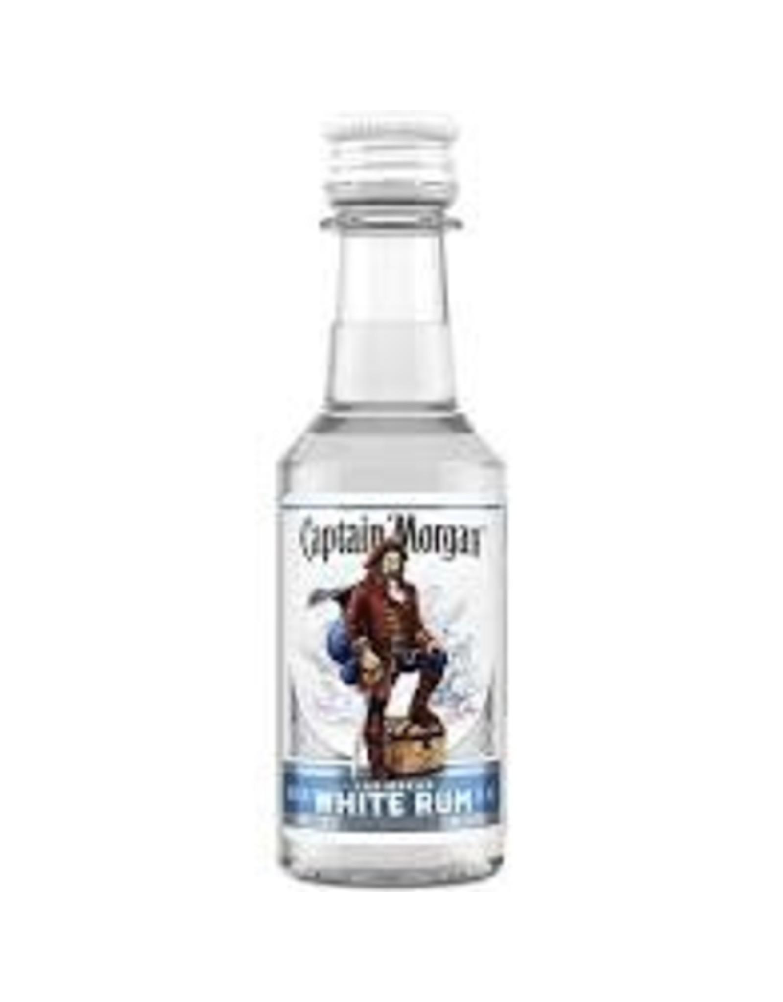 CAPTAIN MORGAN WHITE RUM 50ML