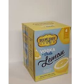 DEEP EDDY LEMON 4PK CANS