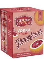 DEEP EDDY RUBY RED 4PK CANS