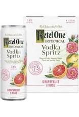 KETEL ONE GRAPEFRUIT ROSE 4PK CANS