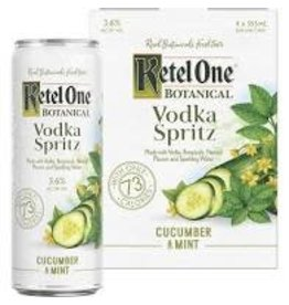 KETEL ONE CUCUMBER MINT 4PK CANS